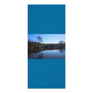 Himmel-und Wasser-Reflexionen - Beaufort County, Werbekarte