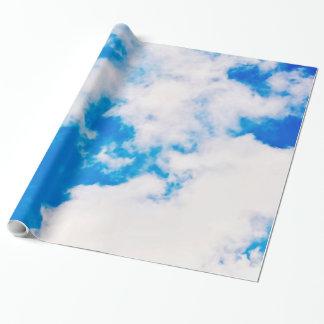 Himmel und Wolken-Packpapier Geschenkpapier
