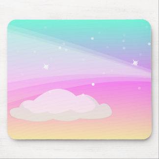Himmel und Wolken: Vektorkunst: Mauspad