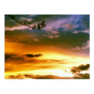Himmel vor einem Sturm Postkarte