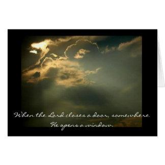 Himmel, wenn der Lord eine Tür schließt, irgendwo Karte
