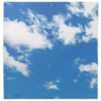Himmel-Wolke Stoffserviette