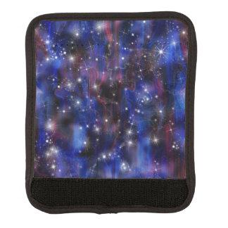 Himmelbild der Galaxie starry lila schöne Nacht Gepäck Markierung