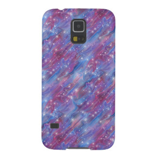 Himmelbild der Galaxie sternenklares rosa schöne Galaxy S5 Hülle
