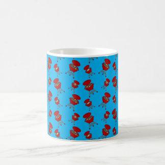 Himmelblau-Grillmuster Kaffeetassen
