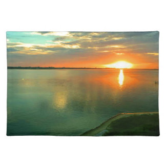 Himmelhoher Sonnenuntergang Tischset