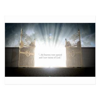 Himmels-Tor-Öffnen Postkarte