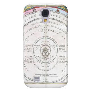 Himmlische altertümliche Landkarte Galaxy S4 Hülle