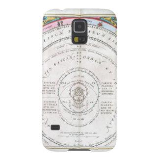 Himmlische altertümliche Landkarte Hülle Fürs Galaxy S5