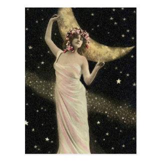 Himmlische Drama-Königin Postkarte
