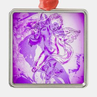 Himmlische Klaenge     Zeichnung Silbernes Ornament