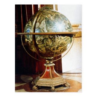 Himmlische Kugel, 1688 Postkarte