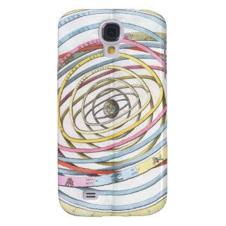 Himmlische Landkarte Galaxy S4 Hülle