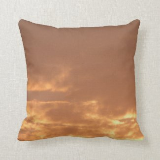 himmlische Morgenspannung über dir Kissen