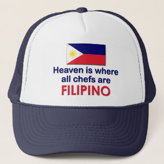 Himmlische philippinische Köche Truckerkappe