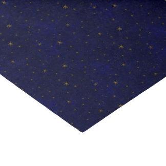 Himmlische sternenklare Nacht Seidenpapier