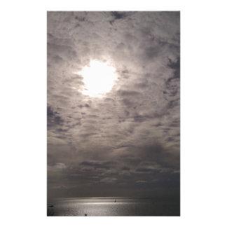 himmlische Wolken Briefpapier