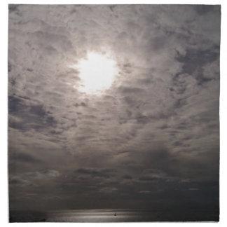 himmlische Wolken Stoffserviette
