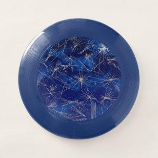 Himmlischer blauer abstrakter NachtgalaxieFrisbee Wham-O Frisbee