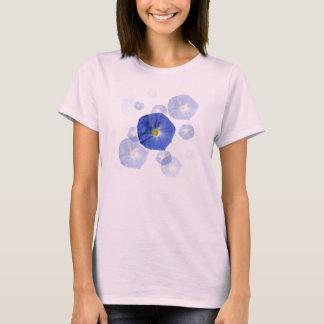 Himmlischer blauer Winden-T - Shirt