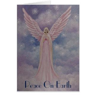 Himmlischer Engel, Weihnachtskarte Karte