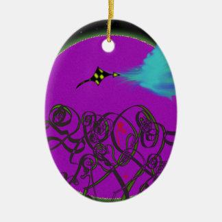 Himmlischer Kampf Keramik Ornament