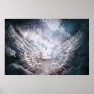 Himmlischer Sprachdruck Plakatdruck