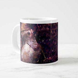 Himmlischer Zebra der Equiden-Eklipse Jumbo-Tasse