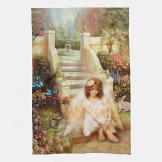 Himmlisches Ruhe-Garten-Geschirrtuch Geschirrtuch