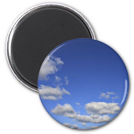 Himmlisches Runder Magnet 5,1 Cm