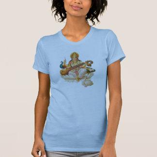 Hindische Göttin Saraswati, T-Shirt