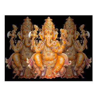 Hindischer Gott Ganesh Postkarte