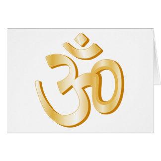 Hindisches Symbol Karte