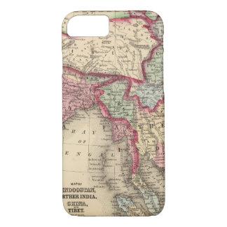 Hindoostan, weiteres Indien, China, Tibet iPhone 8/7 Hülle