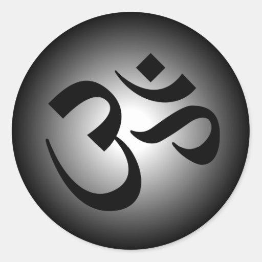 Hindu OM - Meditations-Symbol Sticker