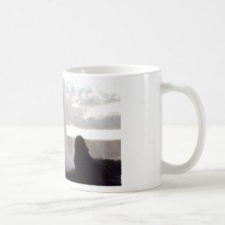 Hinter dem Wasserfall in Island Kaffeetasse