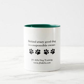 Hinter jedem guten Hund… Tasse