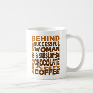 Hinter jeder erfolgreichen Frauen-Tasse