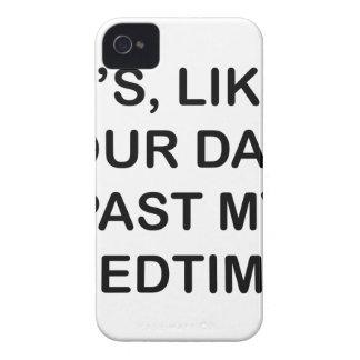 Hinter meiner Schlafenszeit Case-Mate iPhone 4 Hülle