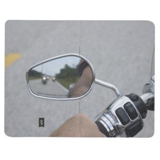 Hintere Ansicht-Reiter Taschennotizbuch