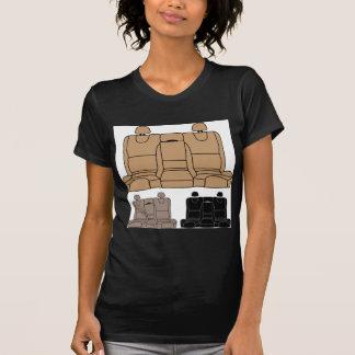 Hinterer Sitzvektor abgeschieden T-Shirt