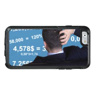 Hinteres Porträt eines Geschäftsmannes verwechselt OtterBox iPhone 6/6s Hülle