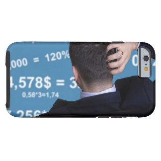 Hinteres Porträt eines Geschäftsmannes verwechselt Tough iPhone 6 Hülle