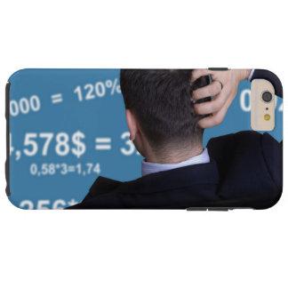 Hinteres Porträt eines Geschäftsmannes verwechselt Tough iPhone 6 Plus Hülle