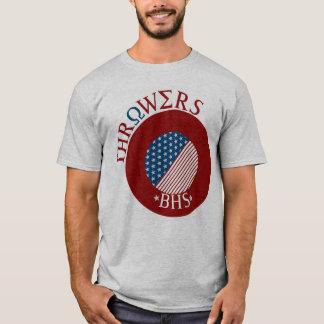 Hinteres und vorderes Spritzringt-stück T-Shirt