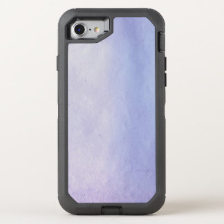 Hintergrund-Beschaffenheits-Aquarell-Papier 2 OtterBox Defender iPhone 8/7 Hülle