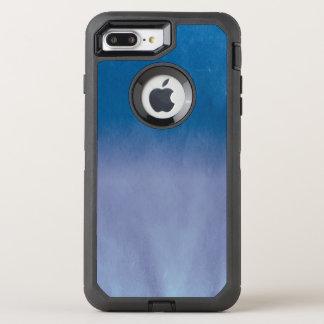 Hintergrund-Beschaffenheits-Aquarell-Papier 3 OtterBox Defender iPhone 8 Plus/7 Plus Hülle