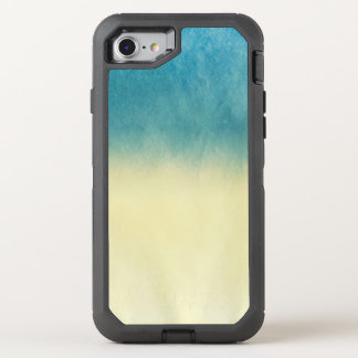 Hintergrund-Beschaffenheits-Aquarell-Papier OtterBox Defender iPhone 8/7 Hülle