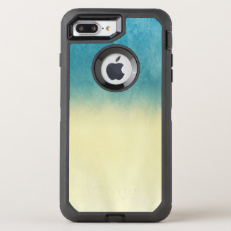 Hintergrund-Beschaffenheits-Aquarell-Papier OtterBox Defender iPhone 8 Plus/7 Plus Hülle