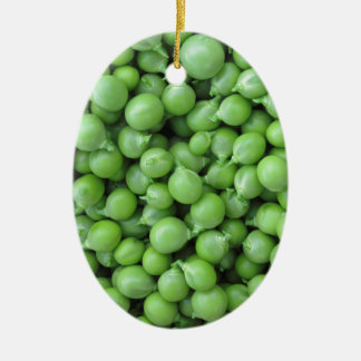 Hintergrund der grünen Erbse. Beschaffenheit der Ovales Keramik Ornament